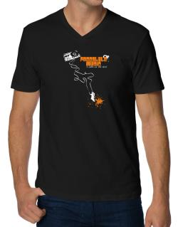 Freestyle Music It Makes Me Feel Alive ! V-Neck T-Shirt