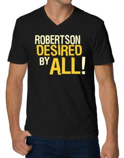 Robertson Desired By All! V-Neck T-Shirt