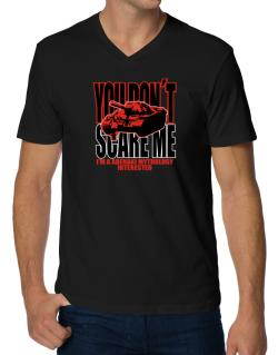 Dont Scare Me V-Neck T-Shirt