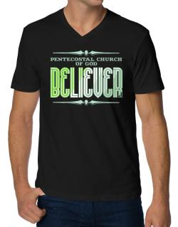 Pentecostal Church Of God Believer V-Neck T-Shirt