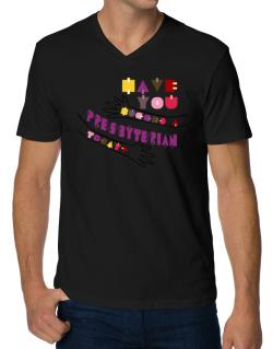 Have You Hugged A Presbyterian Today? V-Neck T-Shirt