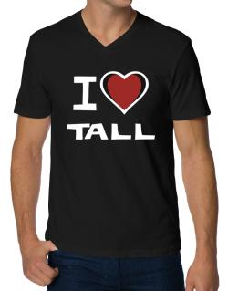 I Love Tall V-Neck T-Shirt