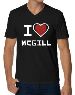 Polo Cuello V de I Love Mcgill