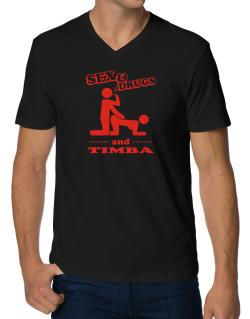 Sex & Drugs And Timba V-Neck T-Shirt
