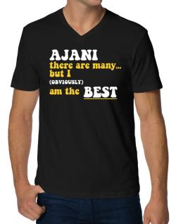 Ajani There Are Many... But I (obviously) Am The Best V-Neck T-Shirt