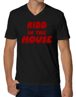 Kidd In The House V-Neck T-Shirt