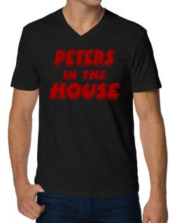 Peters In The House V-Neck T-Shirt