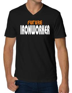Future Ironworker V-Neck T-Shirt