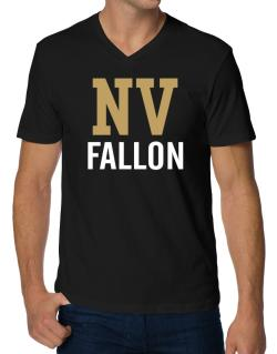 Fallon - Postal usa V-Neck T-Shirt