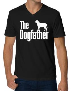The dogfather Broholmer V-Neck T-Shirt