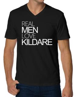 Real men love Kildare V-Neck T-Shirt