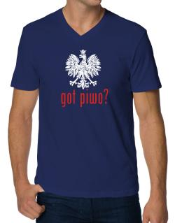 Got Piwo? V-Neck T-Shirt