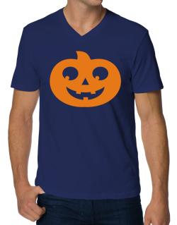 Belly pumpkin V-Neck T-Shirt
