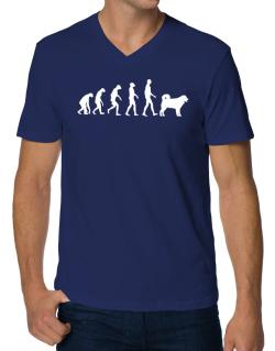 Wetterhoun evolution V-Neck T-Shirt
