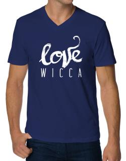 Love Wicca 2 V-Neck T-Shirt