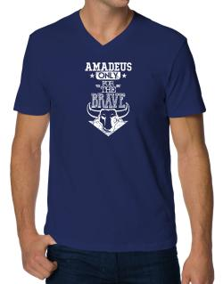 Amadeus Only for the Brave V-Neck T-Shirt