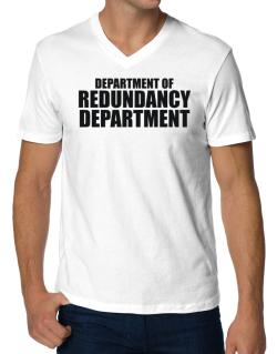 Department Of Redundancy Department V-Neck T-Shirt