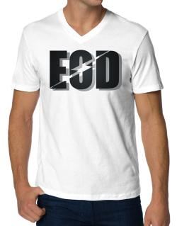 EOD explosive ordinance disposal V-Neck T-Shirt