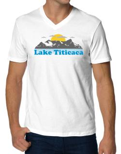 Lake Titicaca  V-Neck T-Shirt
