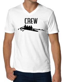 Crew rowing V-Neck T-Shirt