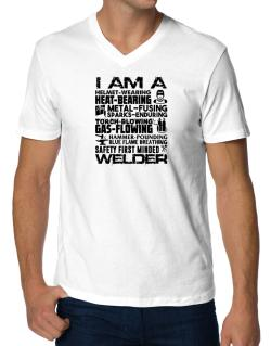 Polo Cuello V de I am a welder