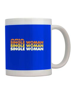 Aria Single Woman Mug