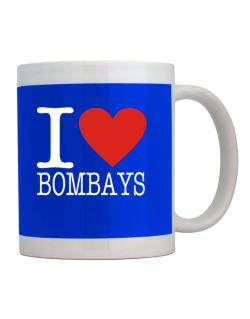 I Love Bombays Mug