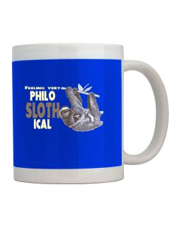 Philosophical Sloth Mug