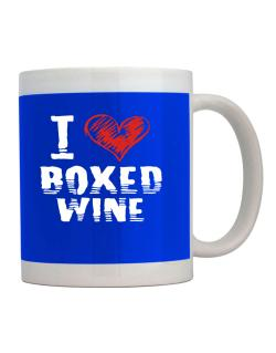 I love boxed wine Mug