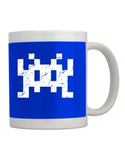 Taza de Space invaders retro