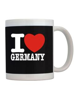 Taza de I Love Germany