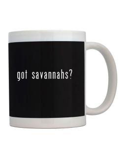 Got Savannahs? Mug