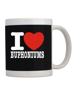 Taza de I Love Euphoniums