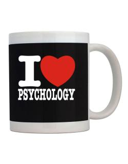 Taza de I Love Psychology