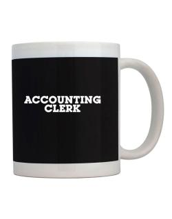 Accounting Clerk Mug