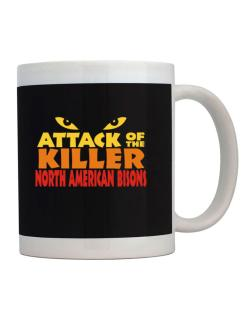 Attack Of The Killer North American Bisons Mug