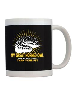 My Great Horned Owl Is More Intelligent Than Your Pet Mug