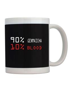 90% Genmaicha 10% Blood Mug