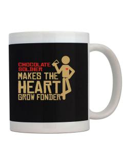 Chocolate Soldier Makes The Heart Grow Fonder Mug