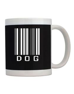 Dog Barcode / Bar Code Mug
