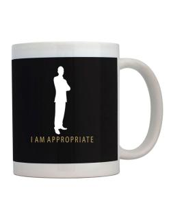 I Am Appropriate - Male Mug