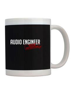 Audio Engineer With Attitude Mug