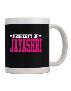 Property Of Jayashri Mug