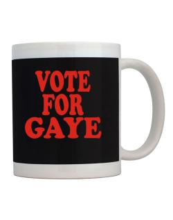 Vote For Gaye Mug