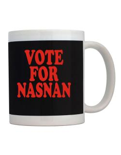Vote For Nasnan Mug