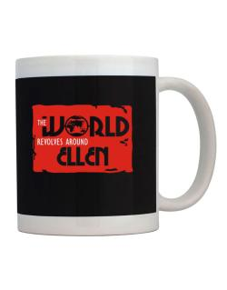 The World Revolves Around Ellen Mug