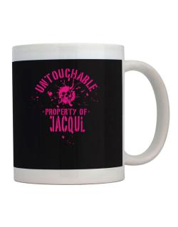Untouchable Property Of Jacqui - Skull Mug