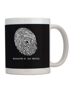 Ammonite Is My Identity Mug