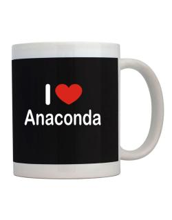 I Love Anaconda Mug