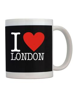 I Love London Classic Mug